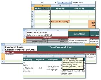 Content Planer Download Kostenlose Content Plan Vorlage