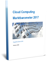 cloud computing marktbarometer Deutschland 2017