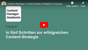 Content Manager Akademie Tutorial 2