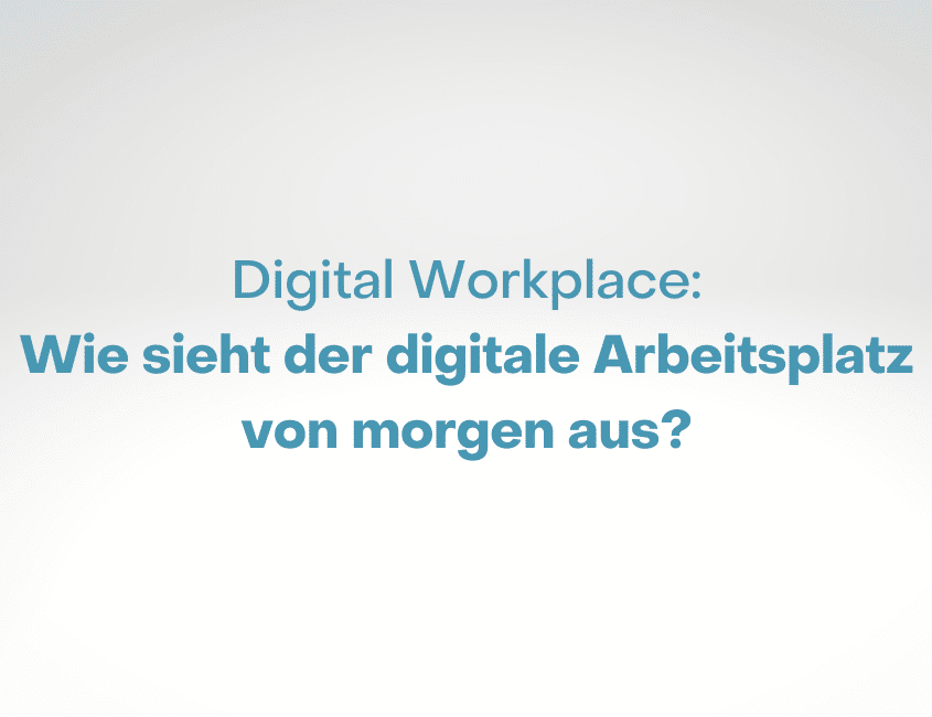 Communardo Trendstudie Digital Workplace