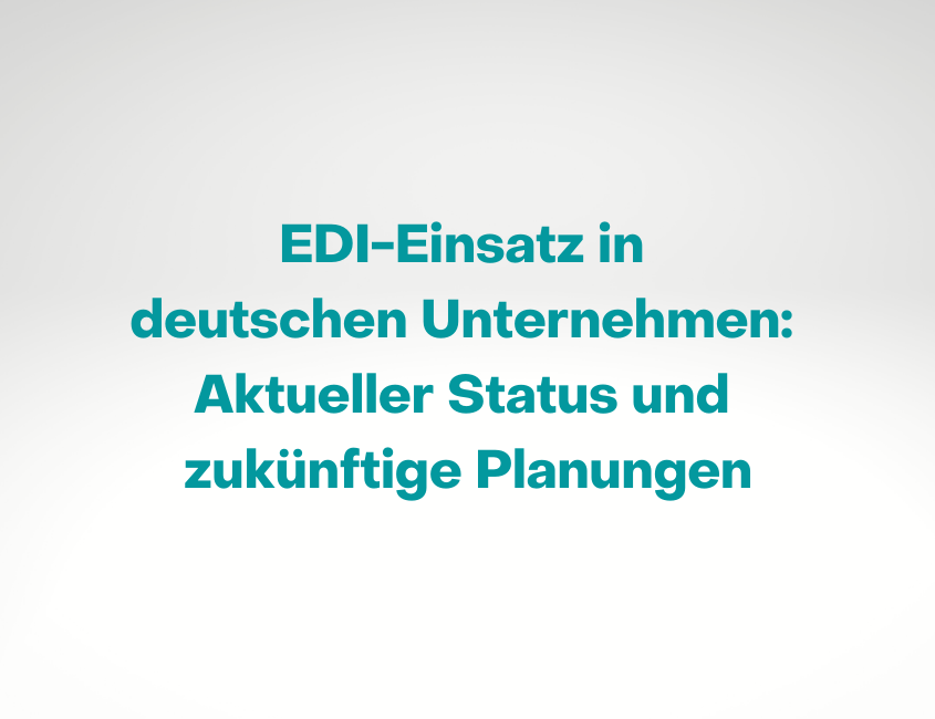 esker EDI-Trendstudie