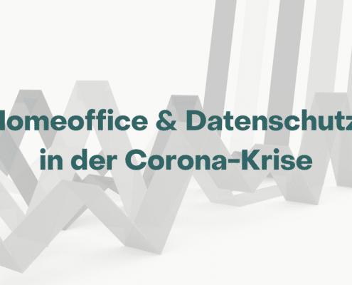 Trendstudie Homeoffice, Datenschutz und Corona