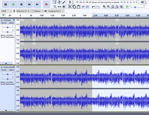 audio-podcast post-production