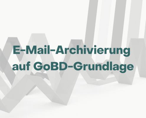 Trendstudie E-Mail-Archivierung Verfahrendsokumentation GoBD